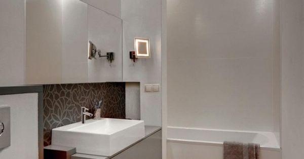 badezimmer modern einrichten abgeh ngte decke indirekte beleuchtung bad beleuchtung. Black Bedroom Furniture Sets. Home Design Ideas