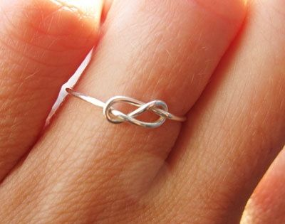 Infinity Ring... I love the infinity symbol so romantic