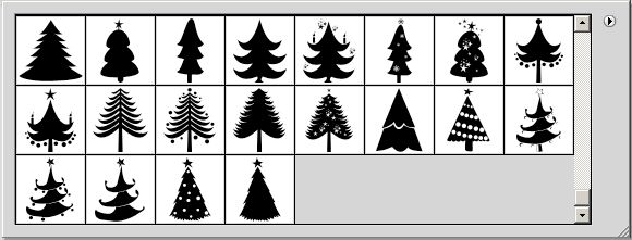 Christmas Tree Vector Shapes Vector Shapes Tree Icon Christmas Vectors