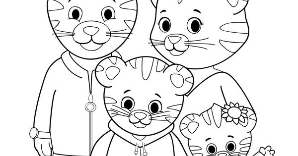 daniel tiger coloring pages printable - photo#28