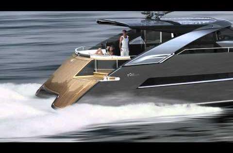 Power Catamaran Concept eCat hybrid by Juri Karinen ...