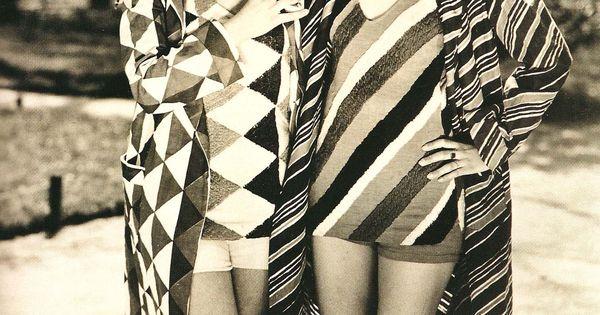 Graphic pattern swimwear, c. 1920s SoniaDelaunay