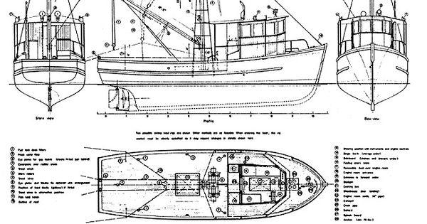 blueprint shrim trawler 36 ft