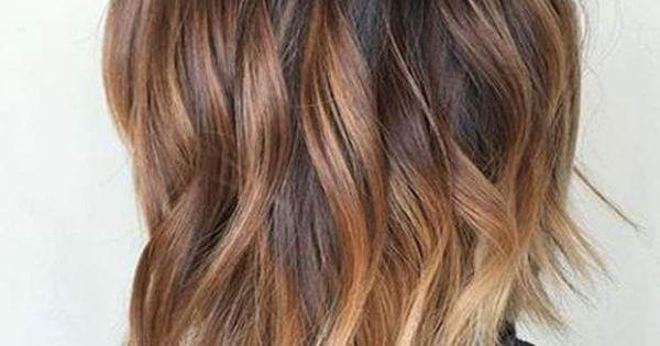 Ces nouvelles colorations qui vont booster votre coupe carr plongeant long ombre ha r et ombr - Ombre hair carre plongeant ...