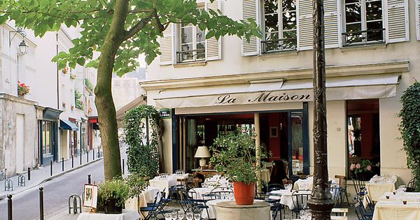 La Maison, paris cafe france french bistro