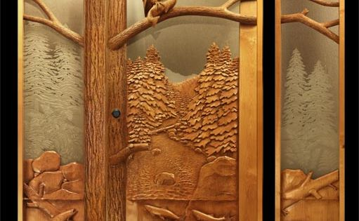 Wow these hand carved wood doors are beautiful the for Amazing hand carved doors