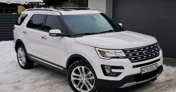Ford Explorer Limited Panorama Pelna Opcja 7166620970 Oficjalne Archiwum Allegro Ford Explorer Ford Explorer Limited Dream Cars