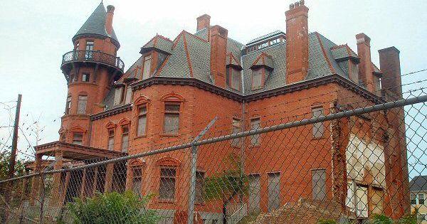 Krueger Scott Mansion Newark Nj Mansions Old Abandoned Buildings Abandoned Mansions