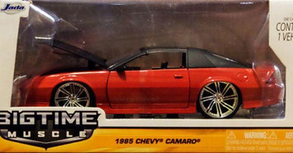 1985 Chevy Camaro Z28 Rot Schwarz Chevrolet 1 24 Jada Toys 96763