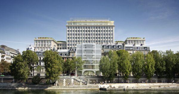 R inventer paris les vingt deux projets laur ats for Projet architecture paris