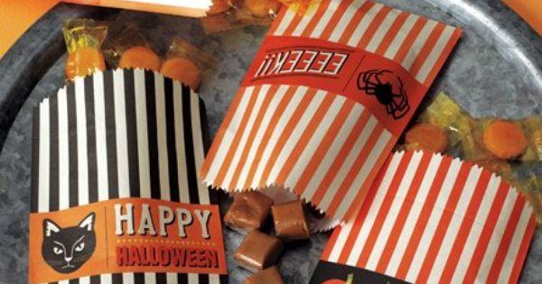 vintage Halloween bags