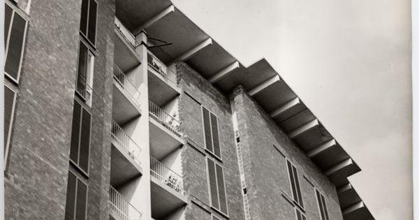 Casa per impiegati borsalino ad alessandria 1948 1952 for Casa borsalino gardella