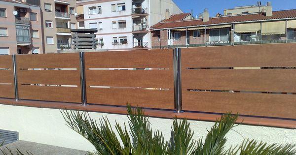 Resultat d 39 imatges de hacer la valla de separaci n mas - Vallas de separacion ...