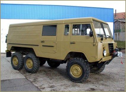 1974 Swedish Military Volvo C304 Tgb 13 6x6 Alu Zinc Body Volvo Expedition Vehicle Vehicles