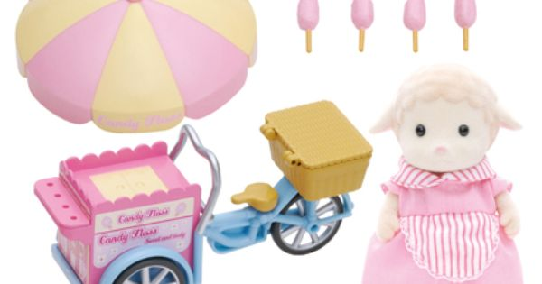Dolly S Candy Floss Sylvanian Families Sylvanian Families Candy Floss Family