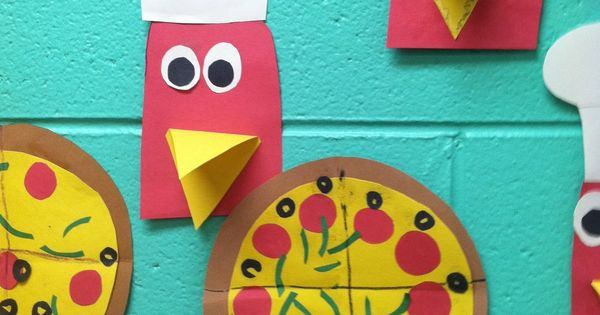Cute Little Red Hen~ for the Little Red Hen makes a pizza.