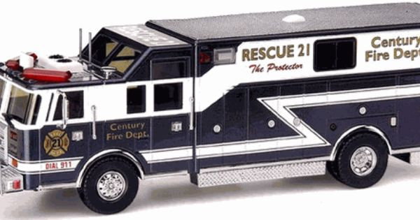Code 3 Millennium Series Pierce Heavy Rescue 12215 Model Truck
