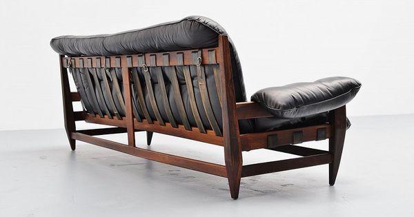 Jean gillon woodard sofa set brazil 1965 mass modern design mid century furniture - Brazilian mid century modern furniture ...