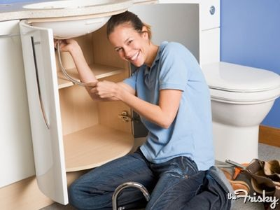 My DH was so happy I fixed the sink yesterday. ~~~17 things