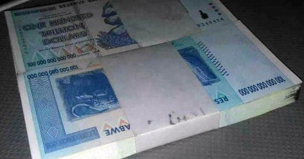 Zimbabwe 1 Million Dollars 2008 Banknote UNC AA//AB P-77
