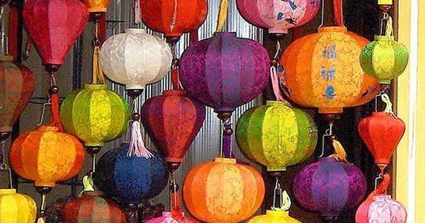 Hot Air Balloon Lanterns.
