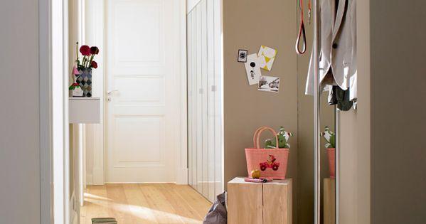 helle farben f r mehr weite die 15 besten wohntipps f r den flur 5 sch ner wohnen ideas. Black Bedroom Furniture Sets. Home Design Ideas