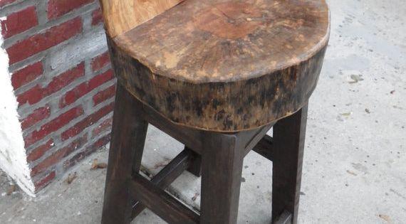 Stump Bar Stools By Ingfurniture On Etsy Crafts To Make