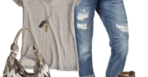 capri jeans .. cute bag ..