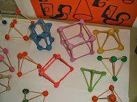 Construir Figuras Geométricas Con Palillos De Dientes Figuras Y Cuerpos Geometricos Figuras Geometricas Para Preescolar Figuras Geometricas Primaria