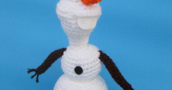 Amigurumi Munecos Disney : Olaf (Frozen) Amigurumi Pattern Disney, Patrones y Croche