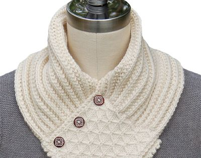 Knitting Quilted Lattice Stitch : Annie s quilted lattice ascot knit cowls and