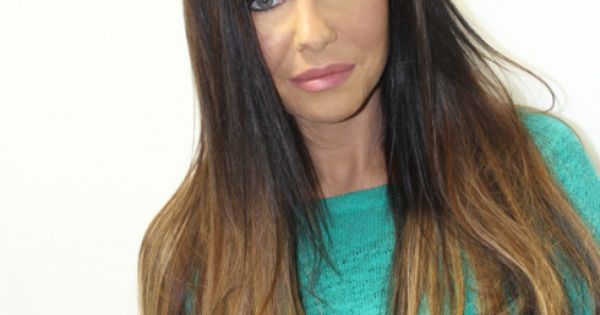 Long Hair Brunette Balayage Ombre