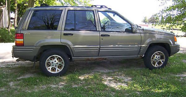 1996 Jeep Grand Cherokee Limited Bought This Car After I Was In