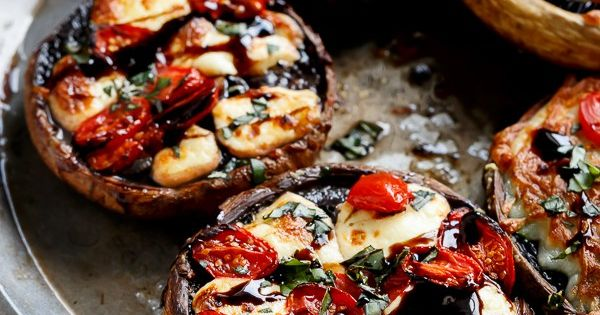 ... Garlic Butter Portobellos | Recipe | Spinach, Garlic butter and Glaze