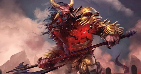 Mogis, God of Slaughter - MtG Art | Magic The Gathering ...