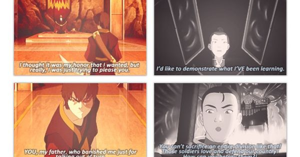 Zuko vs Ozai | air, water, fire, earth | Pinterest | Zuko