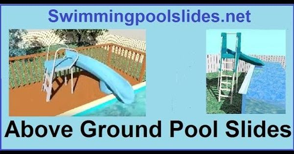 Above Ground Pool Slides, Are There Slides For Above Ground Pools