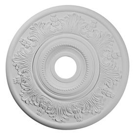 Primed Medallion From Lowes Would Look Beautiful On The Ceiling