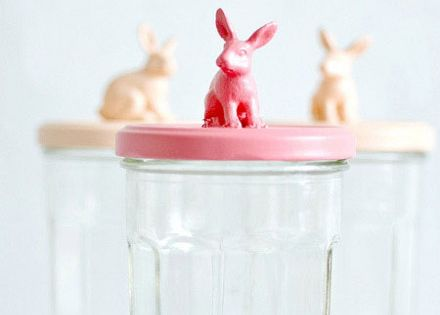 DIY bunny jar