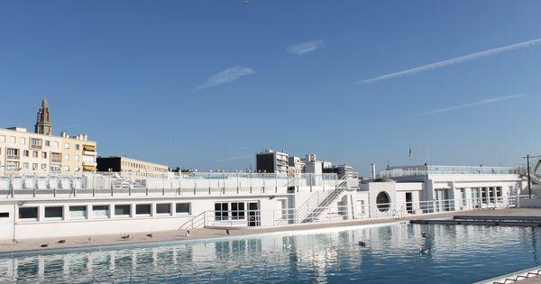 La piscine du cnh club nautique havrais france normandy photo c f lh le havre france - Couverture piscine prima le havre ...