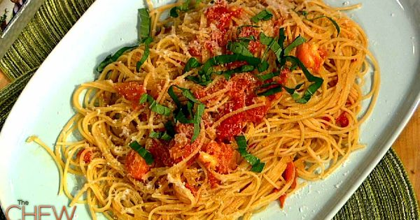 Michael Symon's Pasta Pomodoro recipe. thechew