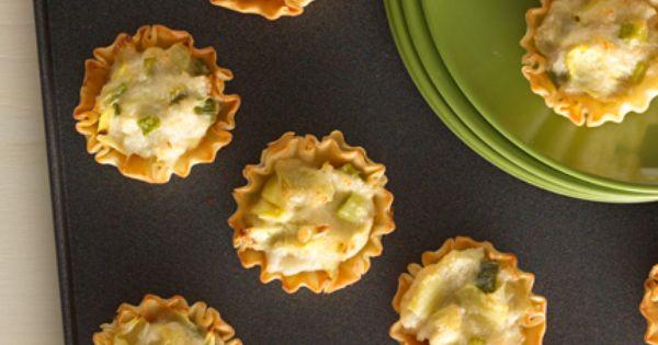 Crab Bites | Recipe | Pastries, Frozen and Cherry tomatoes