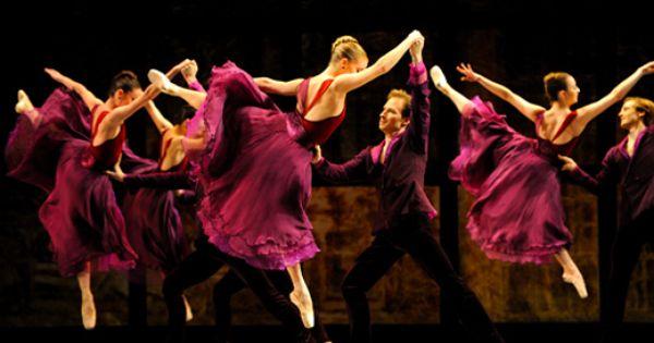 Cool picture! Sadler's Wells Theatre -San Francisco Ballet - Three Mixed Bills
