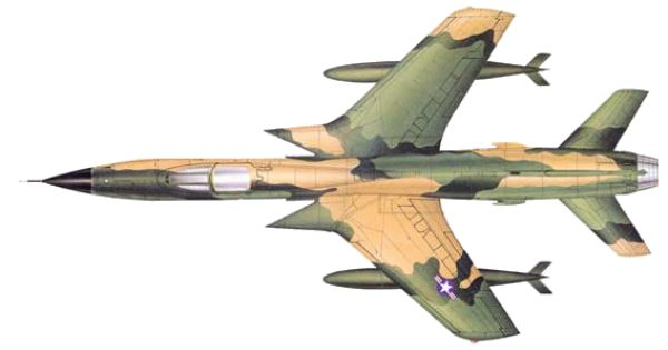 Republic F 105 Thunderchief Post War Era Aircraft Fighter