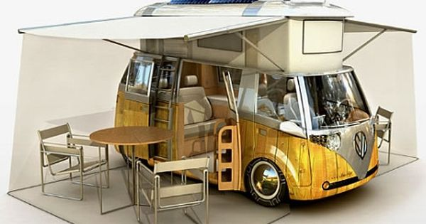 Awesome camping VW van