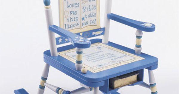 Jesus Loves Me Rocking Chair  Baby...baby  Pinterest  Rocking ...