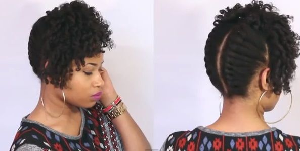 Holiday Natural Hairstyles With Images Medium Length Hair