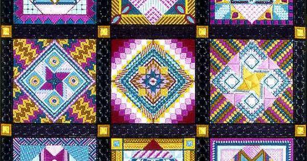 Gleneagle, Jean Hilton design charted needlepoint ...