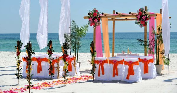 Sunset Beach Wedding Packages Marriage License Alabama Gulf Shores Weddings On The Beach