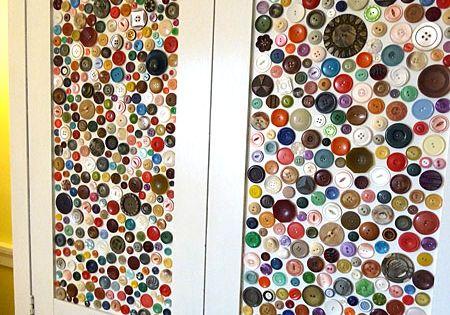 kuchenschranke knopfe : Quirky Button Decor DIYs! K?chenschr?nke, Hobby-/bastelraum und ...